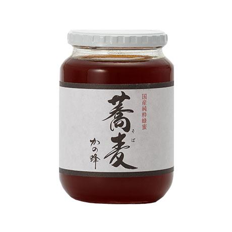 【国産蜂蜜】国産そば蜂蜜1000g