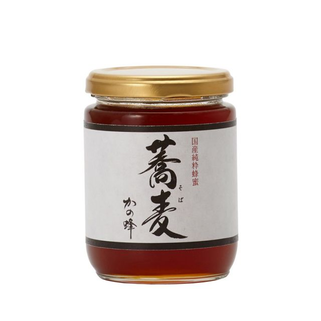 【国産蜂蜜】国産そば蜂蜜300g