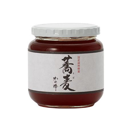 【国産蜂蜜】国産そば蜂蜜600g