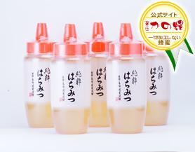 純粋蜂蜜500g(とんがり容器)5本セット