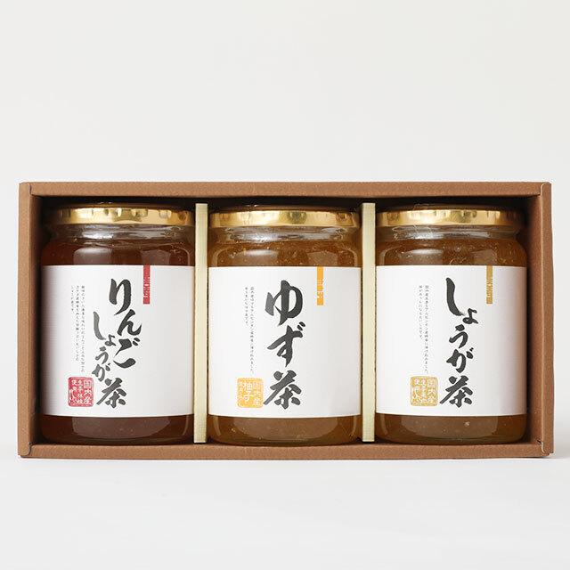 【蜂蜜ギフト】ゆず茶・しょうが茶 ギフトセット