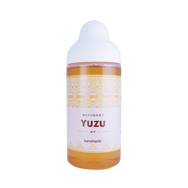 【果汁蜜】果汁入りはちみつ 500g(ゆず)
