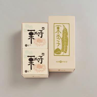 純栗かの子(大) 2缶入