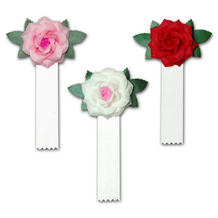 紙バラ(白房付き)