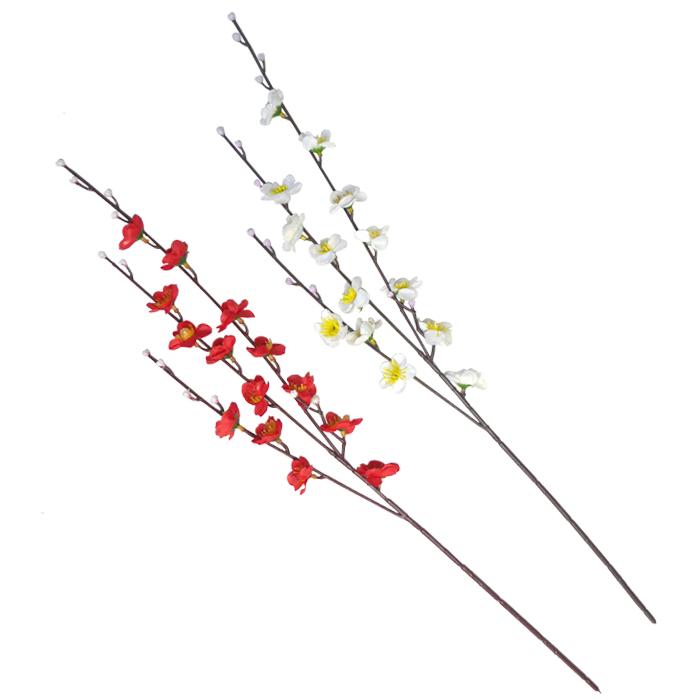 梅造花 【造花】全長約56cm