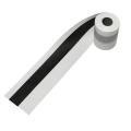 白黒柱巻き紙テープ