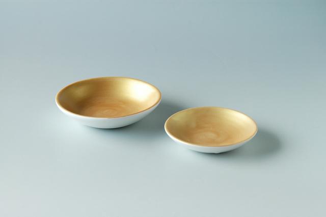 金マット小皿