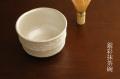 銀彩抹茶碗