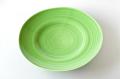緑釉27cm丸皿