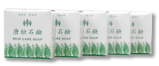 唐松石鹸30g×5個