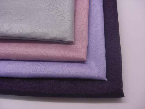 熟庫紗:スッコサ(織模様入り)【紫色系】