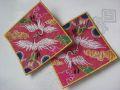 韓国刺繍【双鶴繍:021】