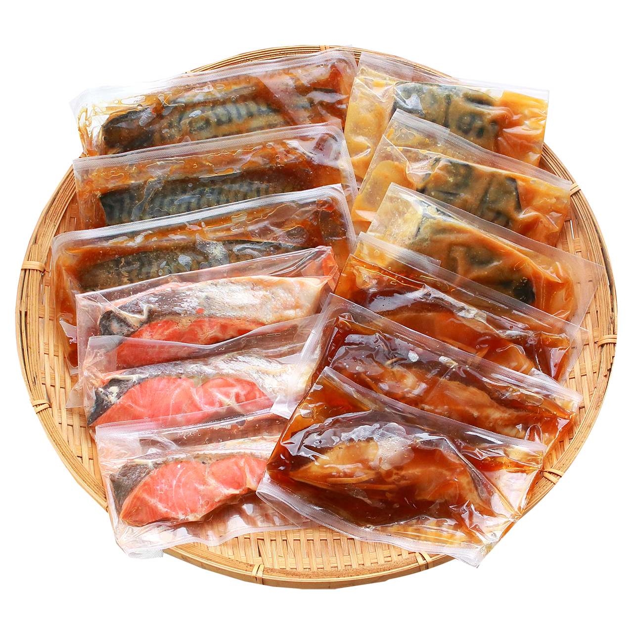 【敬老の日限定包装】氷温熟成 煮魚・焼魚詰合せ12切