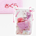 アナノ カフェ おむつケーキ1段 名入れ刺繍ポケットタオル付 ピンク