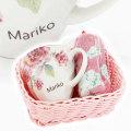 母の日や女性へのプレゼントにばらぞの名入れマグカップ&タオル