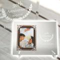結婚記念日や還暦祝いのプレゼントなどにアンティークフォトフレーム