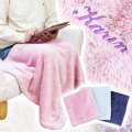 誕生日や出産祝いなどに名入れ刺繍 ラメブランケット