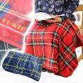 名入れ刺繍 ブランケット マスターチェックは誕生日やクリスマスに