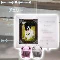 メモリアルクリスタル アンティーク 手元供養セット