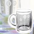 誕生日プレゼントやお祝いなどになまえポエムガラスマグカップ