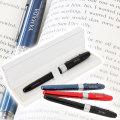 昇進祝いや退職祝いなどに名入れ万年筆 プレジール 全3色