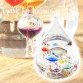 ご友人へ贈る記念品やお子さんへの誕生日プレゼントなどにガラスフロート名入れ温度計