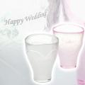 【結婚祝いや結婚記念日に最適】泡立ちペアグラス BeerHeart