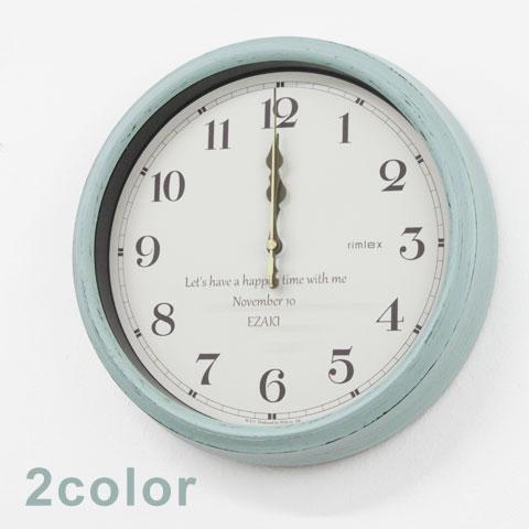 オリジナル電波時計 レトロ [手描き・オリジナルデザイン]