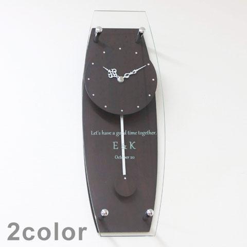 キラキラ ラインストーン オリジナル掛け時計 [手描き・オリジナルデザイン]