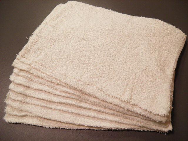 雑巾、厨房の台拭き鍋つかみに業務ウエスとしても
