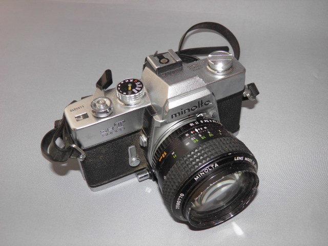 ミノルタ製、フィルム一眼レフカメラ