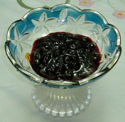 美味しいジャム軽井沢特産の黒房すぐりジャム 150g瓶