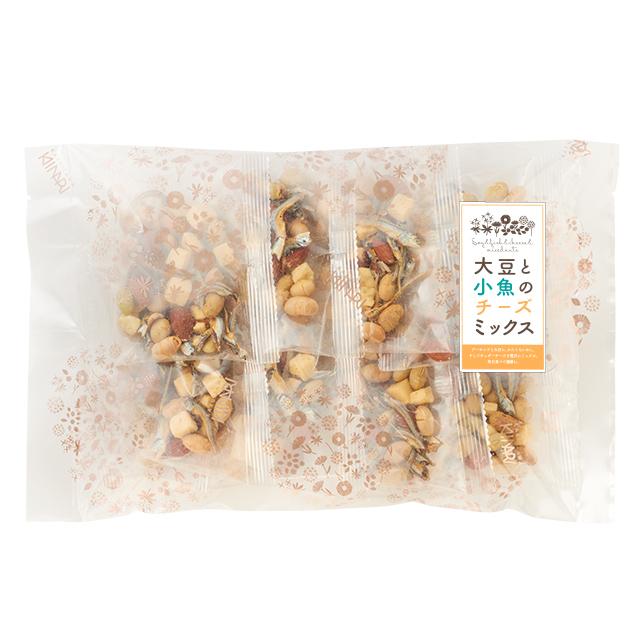 大豆と小魚のチーズミックス10p