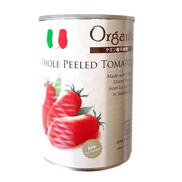 有機ホールトマト缶 【110810】