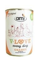 ami DOG オレンジ缶(かぼちゃ・サツマイモ) 【140450】