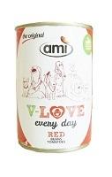 ami DOG レッド缶(豆・トマト) 【140470】