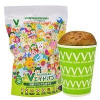 Vエイドパン(抹茶クロレラ&あずき)(冷凍同梱不可)【122390】