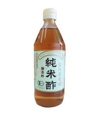 国内産有機純米酢 500ml (冷凍品と同梱不可商品)【110830】