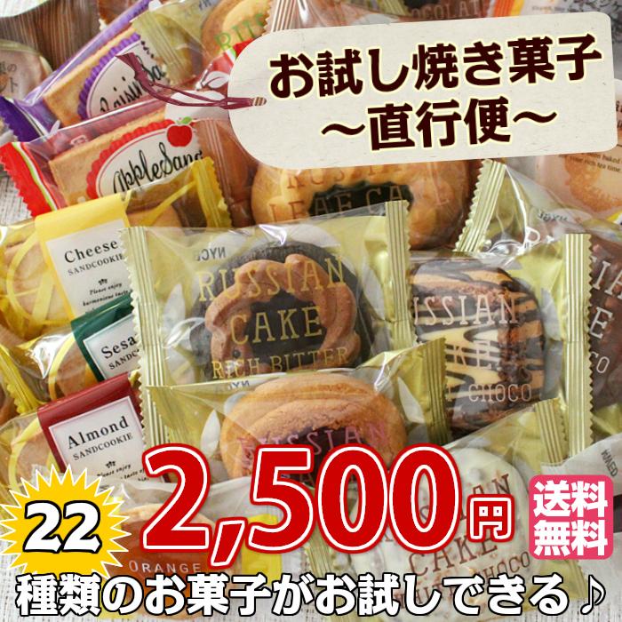 お試し焼き菓子直行便22個入