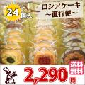 ロシア ケーキ 〜 直行便 〜 24個入