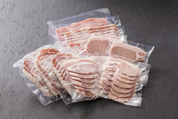 かすみがうら市 広原畜産「蓮根豚」ギフト2kgセット(冷凍)
