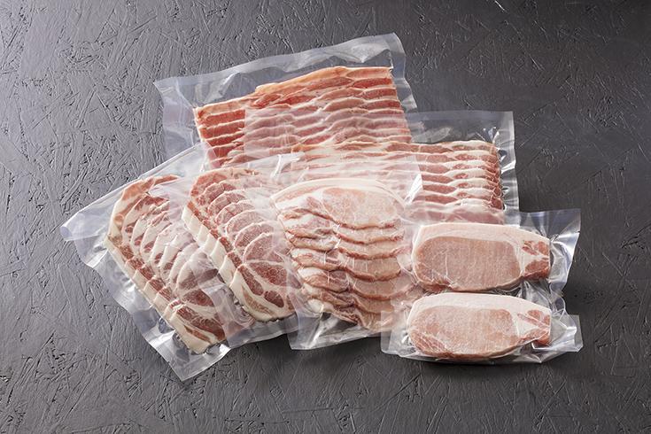 かすみがうら市 広原畜産「蓮根豚」ギフト1.2kgセット(冷凍)