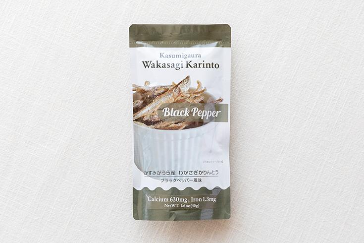 かすみがうら産 わかさぎかりんとう ブラックペッパー風味