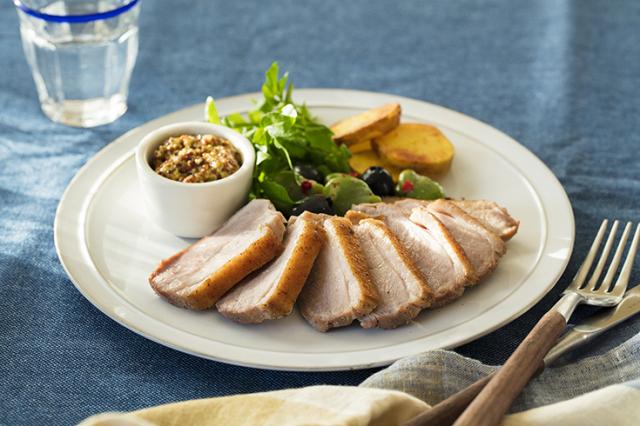 かすみ鴨 むね肉のロースト(約150g) 冷凍
