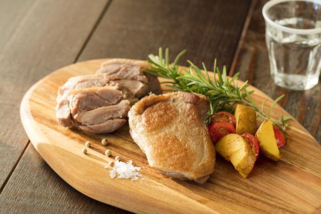 かすみ鴨 もも肉のコンフィ(約150g)冷凍
