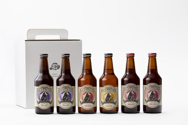 クラフトビール BASSRISE飲み比べセット4種(6本)