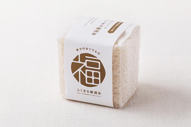 ふくまる厳選米と佃煮・梅干