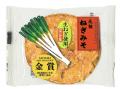 ねぎみそ煎餅 金賞 1枚パック 段ボール箱入り50枚 通販限定価格