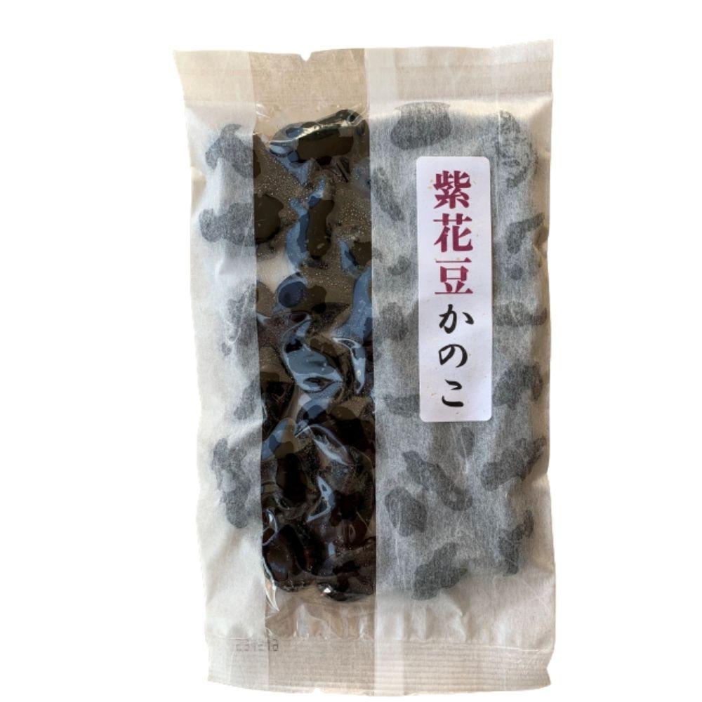 紫花豆かのこ