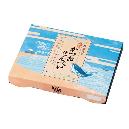 金印 焼津かつおせんべい 箱入り(2枚×12袋)